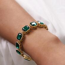 New Year 1pc Gemstone Decor Bracelet