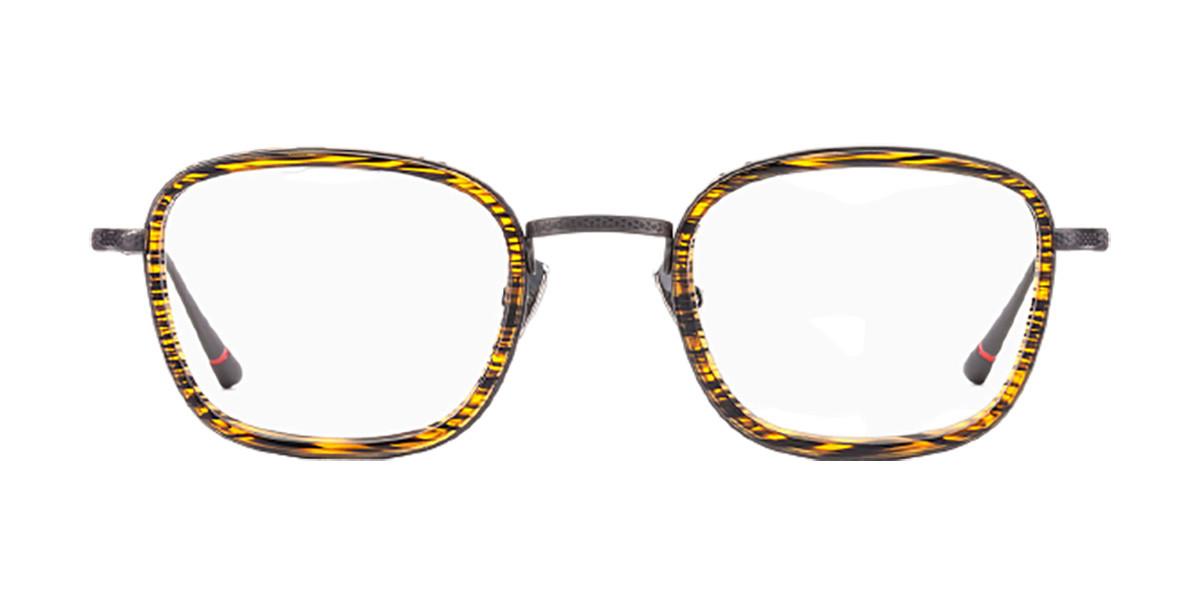 Etnia Barcelona Richmond BKOG Men's Glasses Black Size 48 - Free Lenses - HSA/FSA Insurance - Blue Light Block Available
