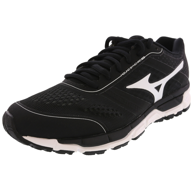 Mizuno Women's Synchro Mx Black / White Ankle-High Softball - 7M