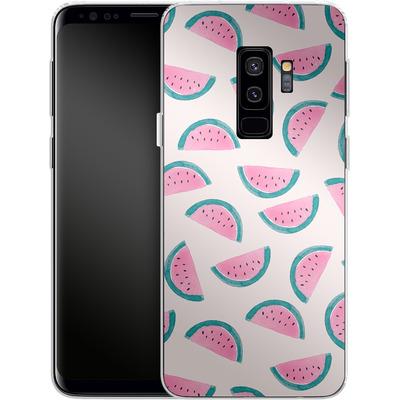Samsung Galaxy S9 Plus Silikon Handyhuelle - Watermelon Party von Iisa Monttinen