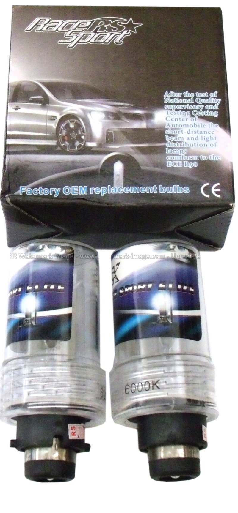Race Sport Lighting RS-D4PURPLE-RB Professional Series D4 Purple OEM Factory HID Replacement Bulbs