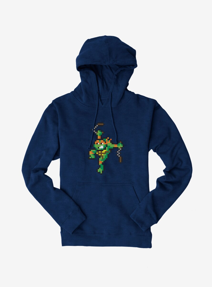 Teenage Mutant Ninja Turtles Pixelated Michelangelo Hoodie