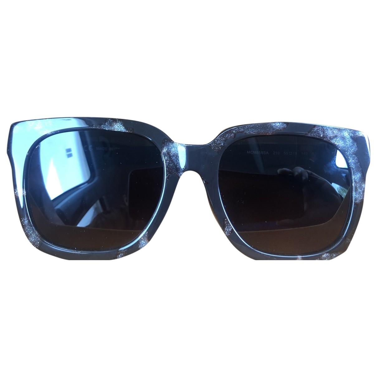 Mcm \N Sonnenbrillen in  Braun Metall
