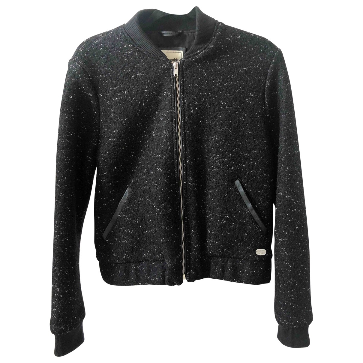 Abercrombie & Fitch \N Black Wool jacket for Women 14 UK