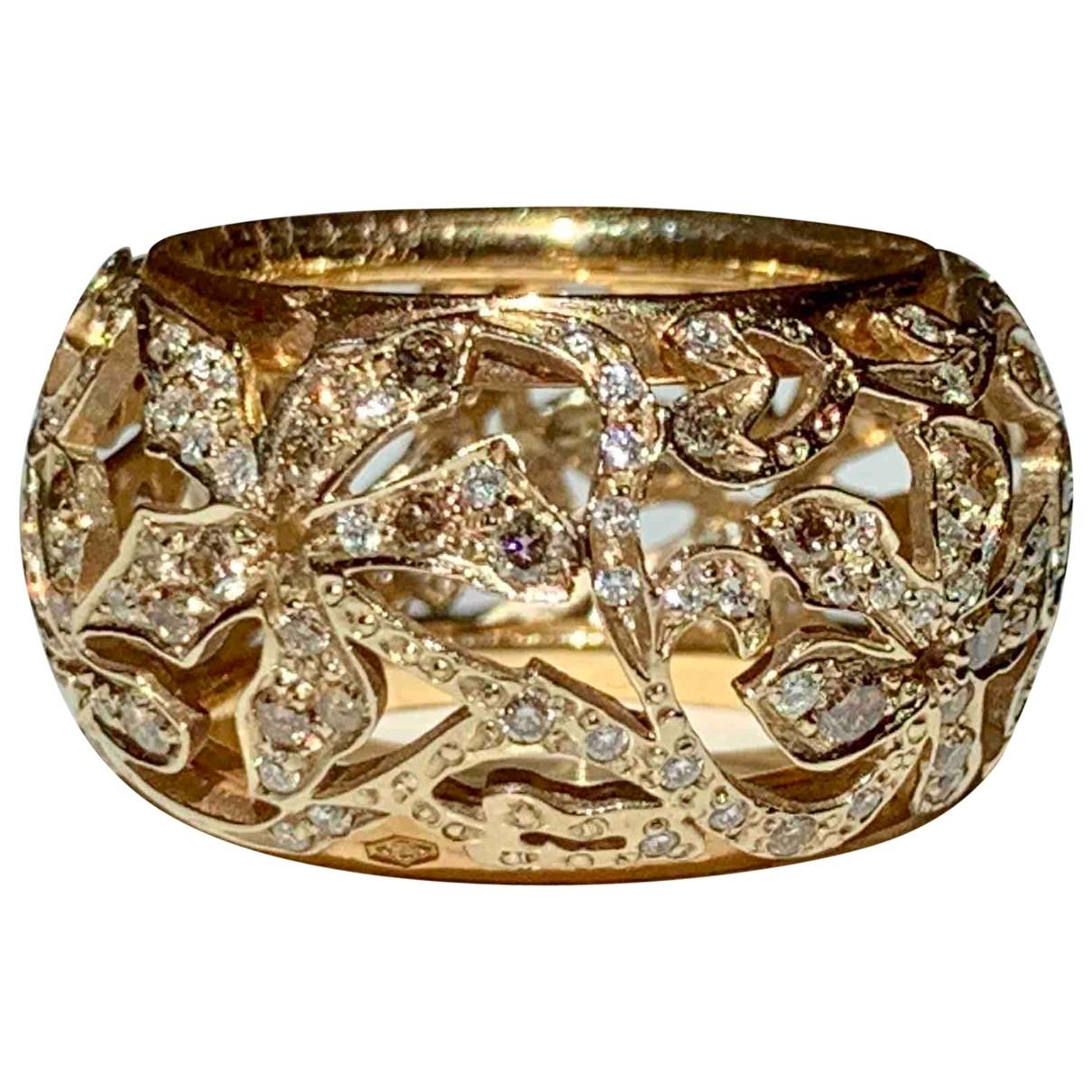 Pomellato Arabesque Ring in  Gold Rosegold