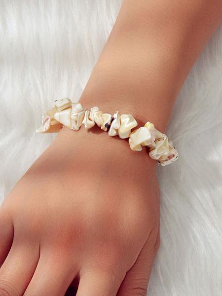 Milanoo Shell Bracelet Stretchy Beach Jewelry