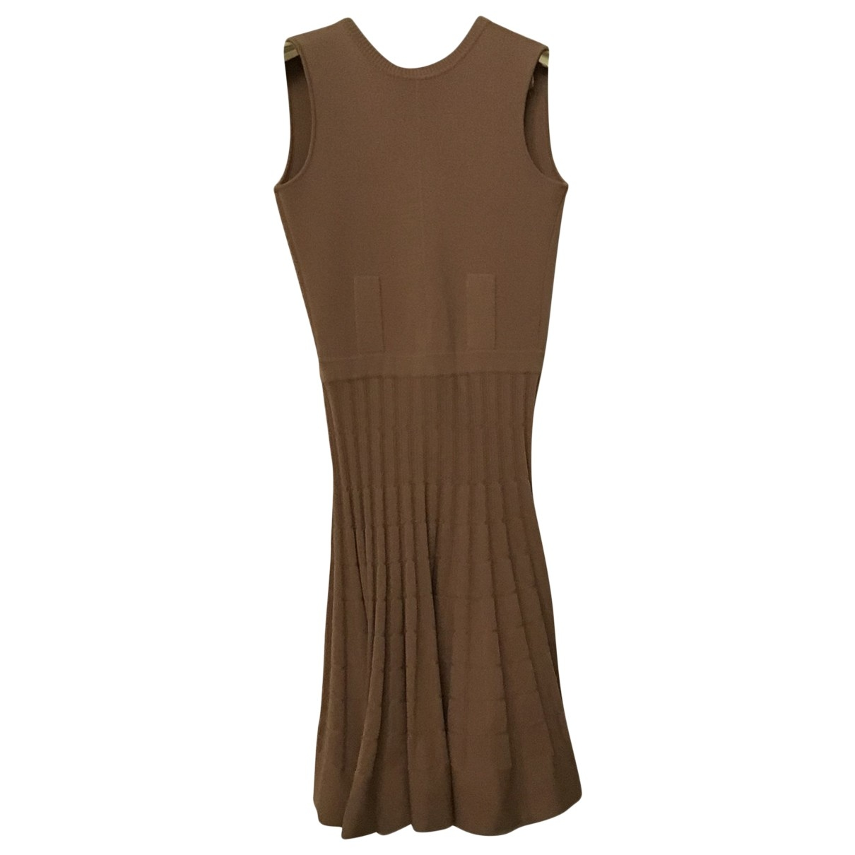 N°21 - Robe   pour femme en laine - rose