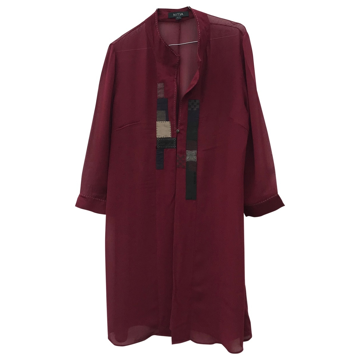 Non Signé / Unsigned \N Red jacket for Women 38 FR