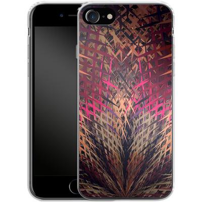 Apple iPhone 7 Silikon Handyhuelle - Grid Explosion von Danny Ivan
