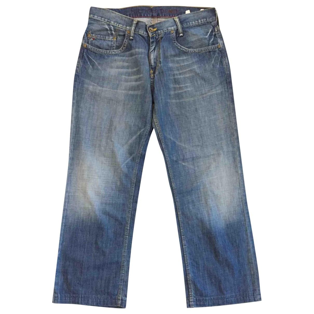 Tommy Hilfiger \N Blue Cotton Jeans for Men 40 FR