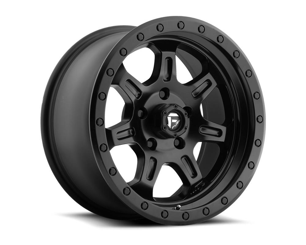 Fuel D572 JM2 Matte Black 1-Piece Cast Wheel 17x8.5 5x127 -06mm