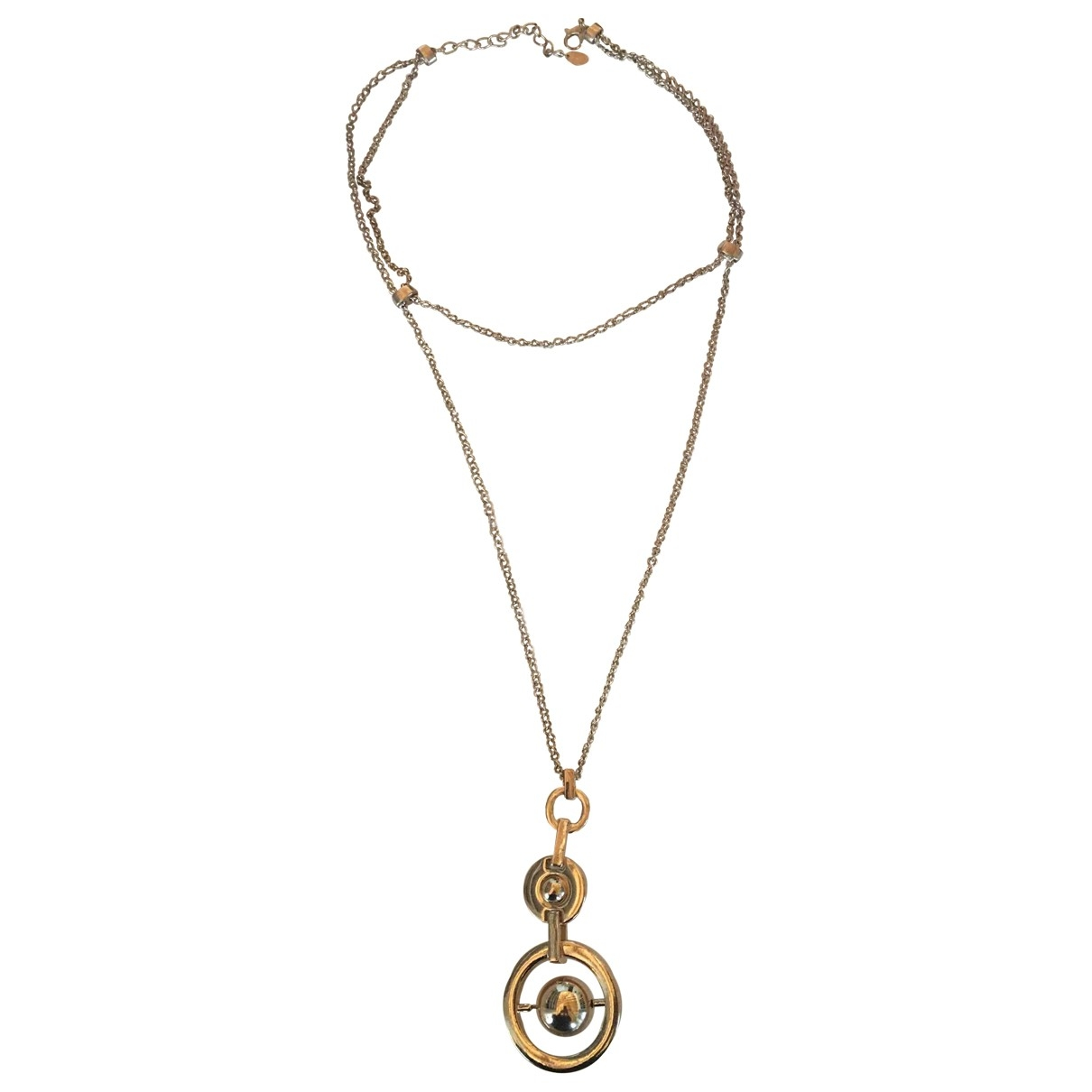 Zara \N Gold Metal necklace for Women \N