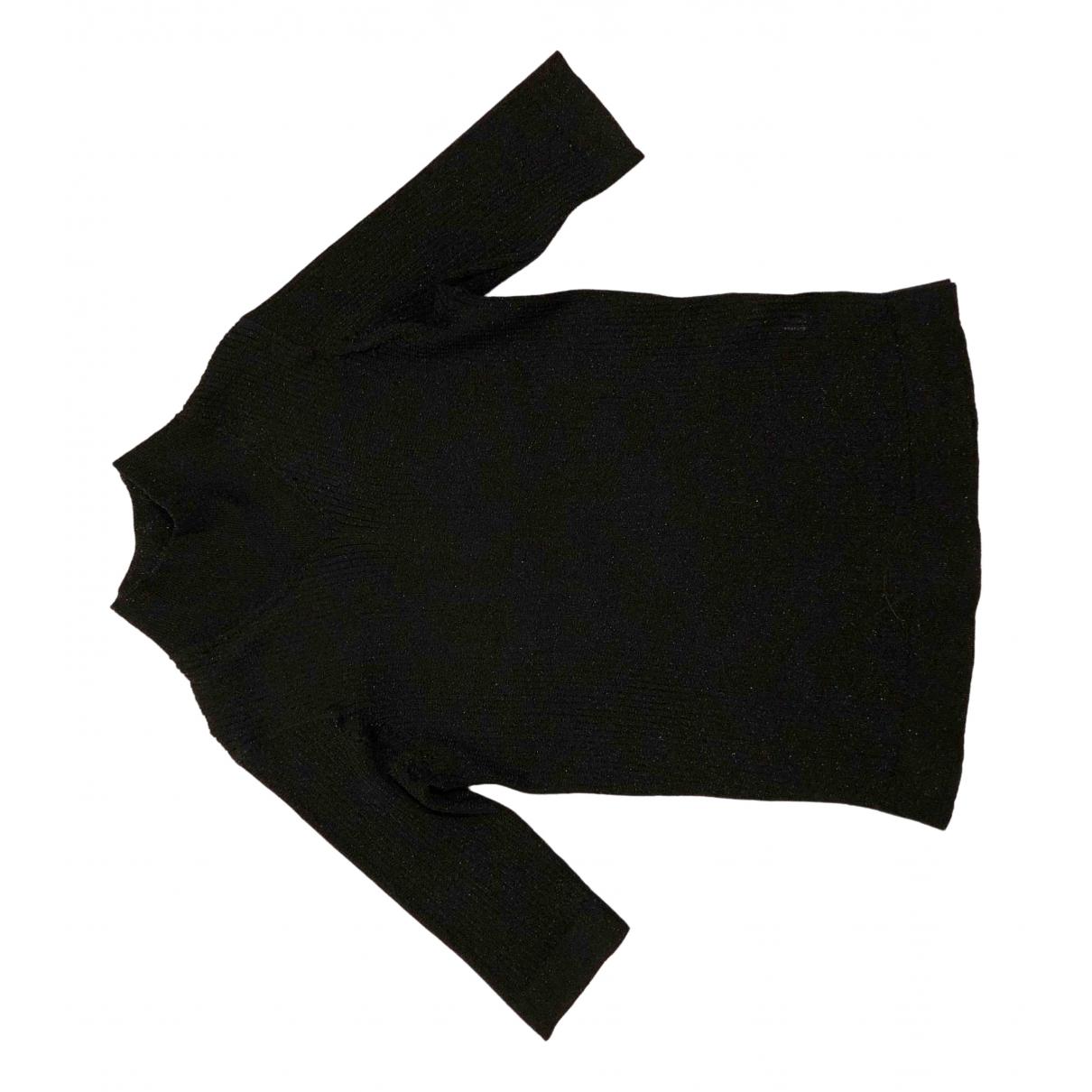 Dagmar - Top   pour femme en a paillettes - noir