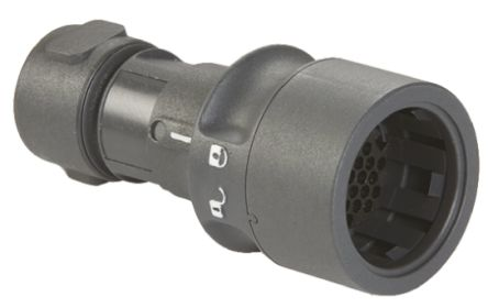 Bulgin Connector, 22 contacts Cable Mount Socket, Crimp, Solder IP66, IP68, IP69K