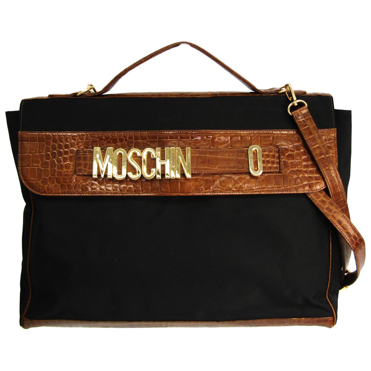 Moschino N Brown Leather handbag for Women N