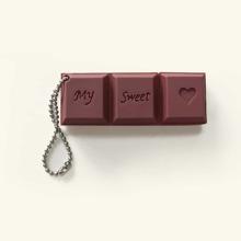 1 Stueck USB-Massenspeicher mit Schokolade Design