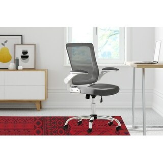 PATCHWORK TAHOE Office Mat By Kavka Designs (Red, Purple)