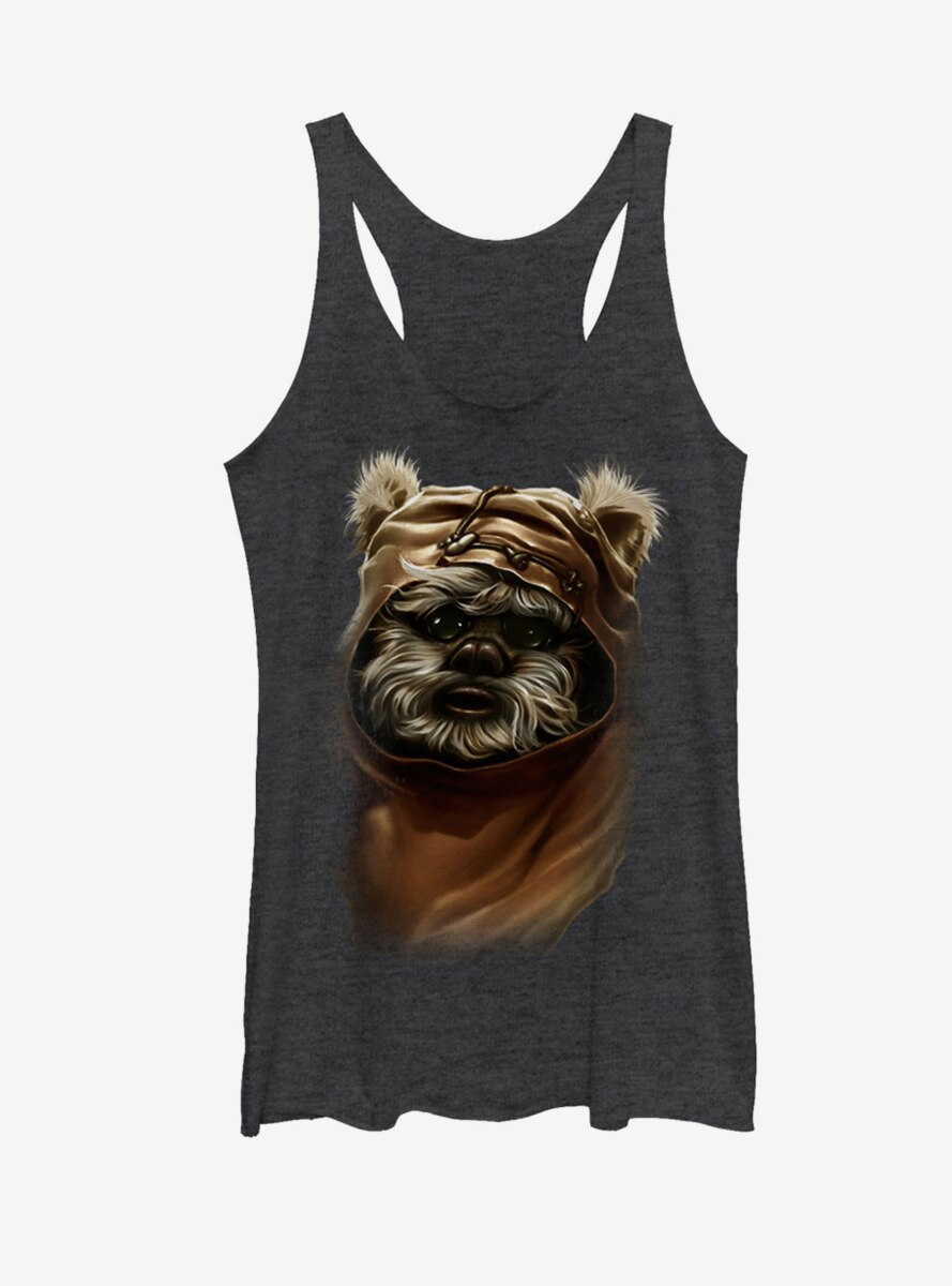 Star Wars Wicket Ewok Womens Tank