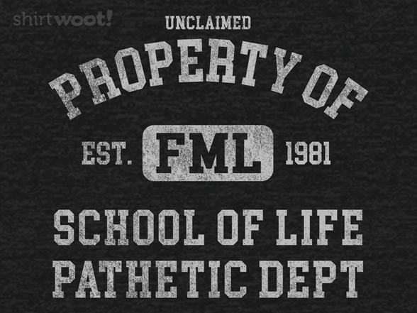 Unclaimed Property Of The Pathetic Dept. T Shirt