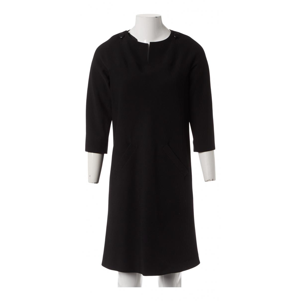 Balenciaga N Black Wool dress for Women 36 FR