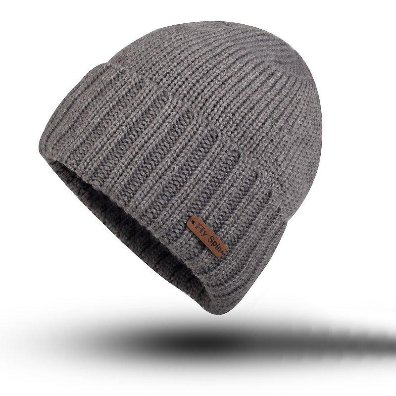 Ericdress Pure Color Warm Mens Hat