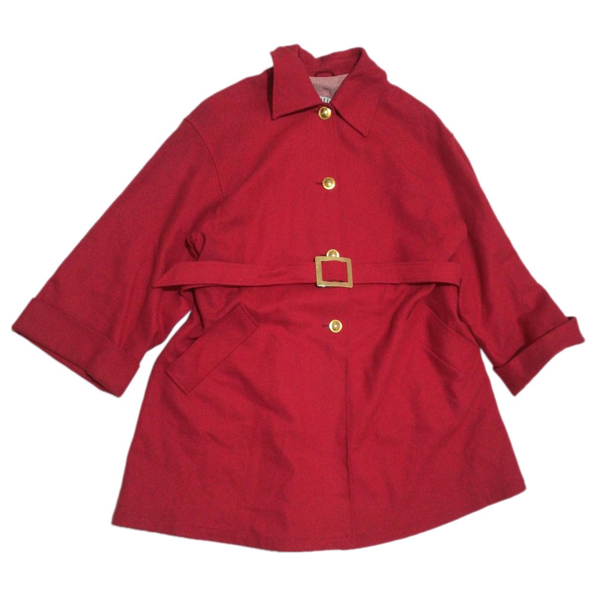 Marella - Manteau   pour femme en laine - rouge
