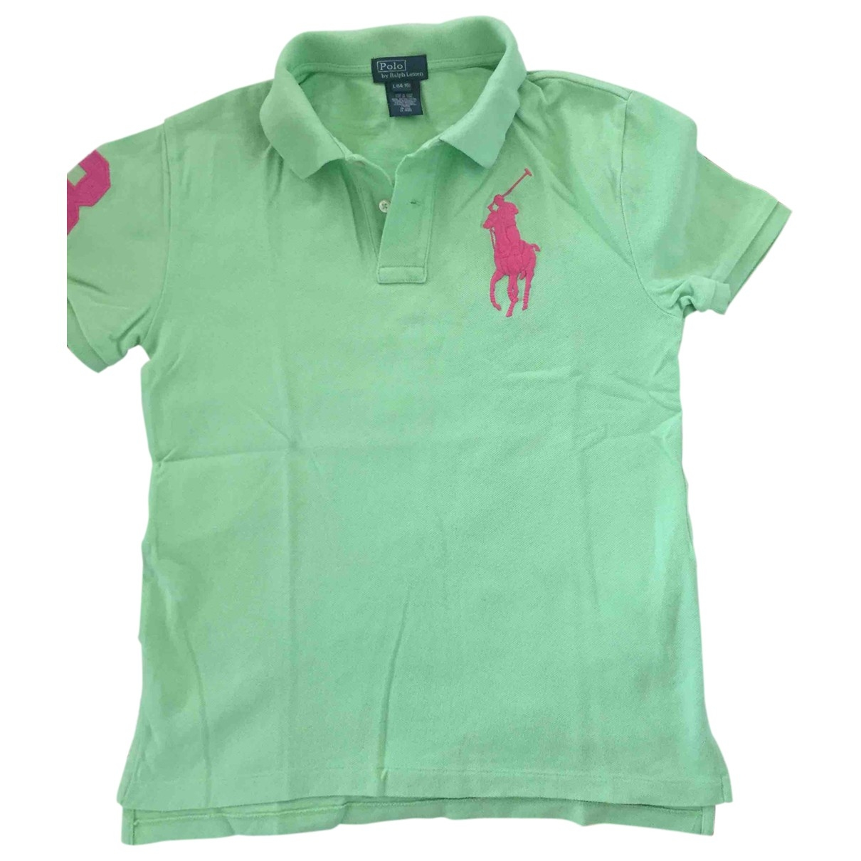 Polo Ralph Lauren \N Green Cotton  top for Kids 16 years - M FR