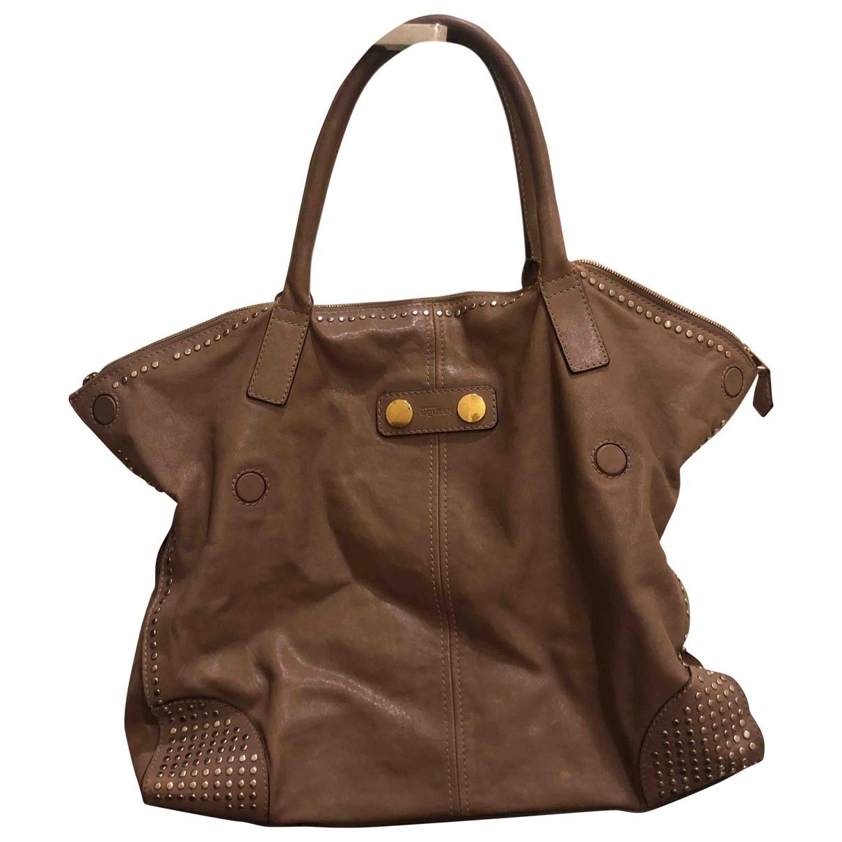 Alexander Mcqueen \N Brown Leather handbag for Women \N