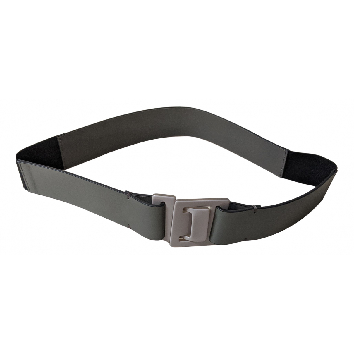 Marni \N Grey Leather belt for Women 80 cm