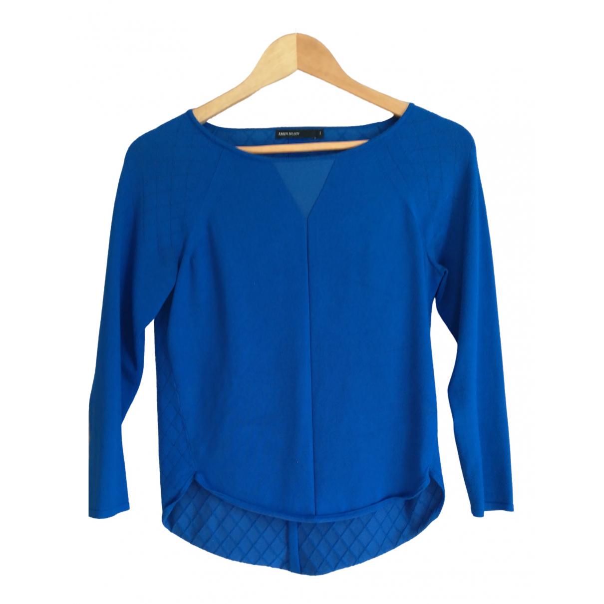 Karen Millen \N Blue Cotton Knitwear for Women 1 0-5