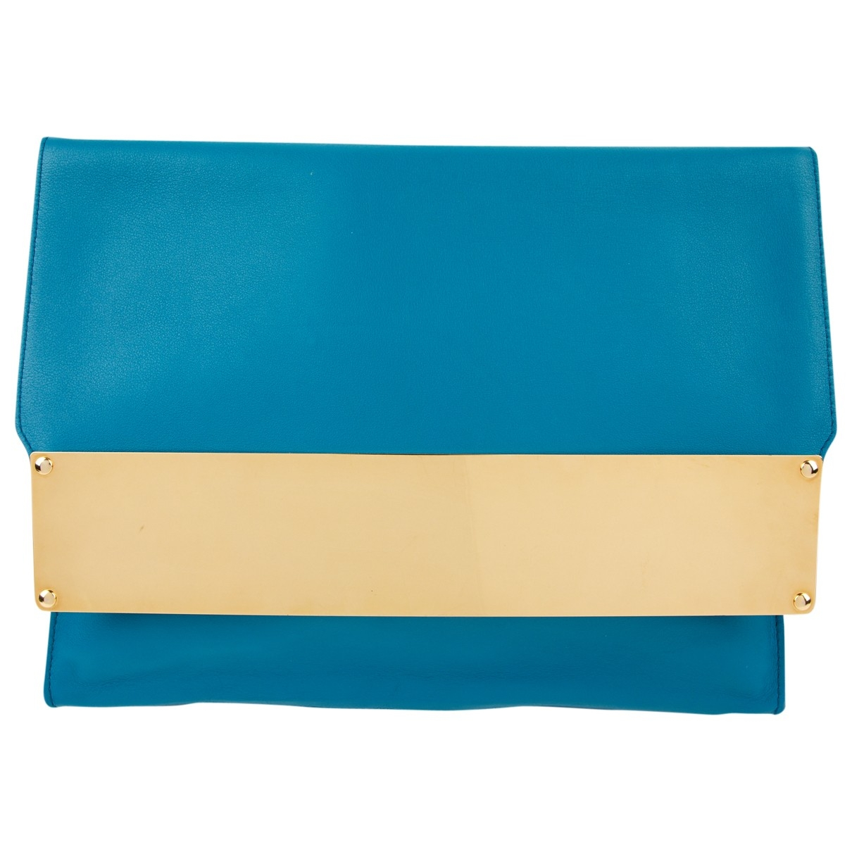 Sophie Hulme \N Blue Leather Clutch bag for Women \N
