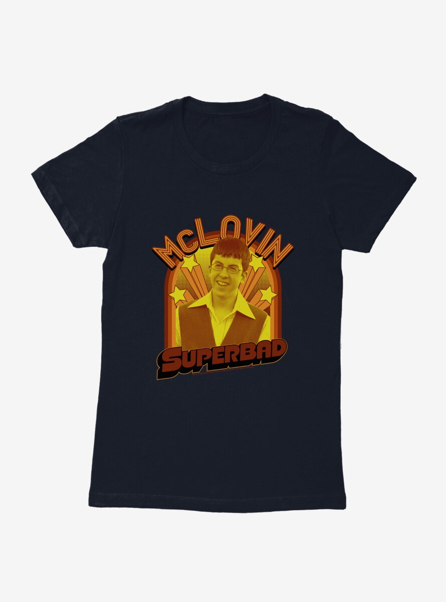 Superbad McLovin Stars Womens T-Shirt