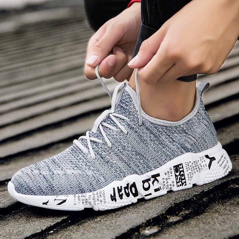 Ericdress Round Toe Plain Lace-Up Men's Athletic Shoes