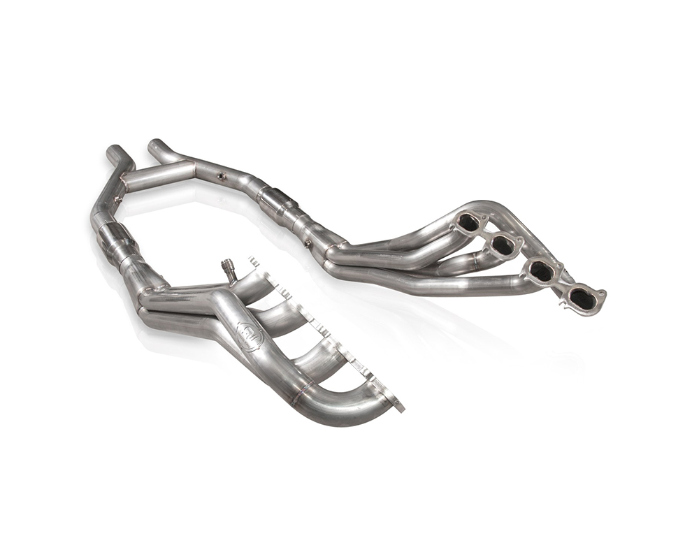 Stainless Works GT145HCATHP 2007-14 Shelby GT500 Headers 1-7/8in Primaries High-Flow Cats H-Pipe