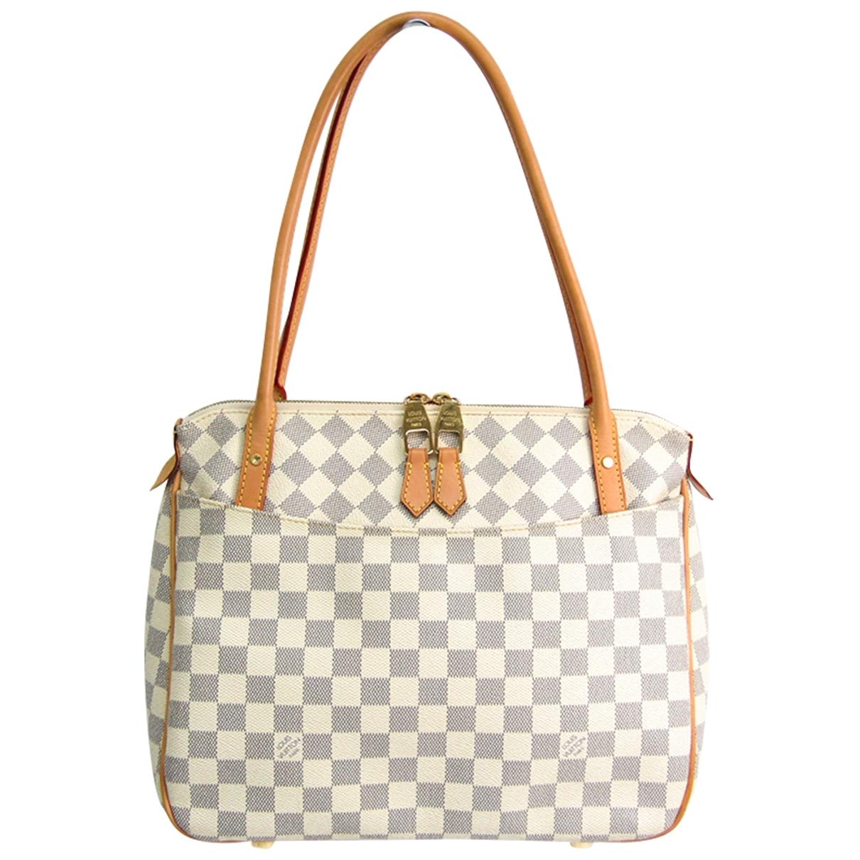 Louis Vuitton Figheri White Cloth handbag for Women \N