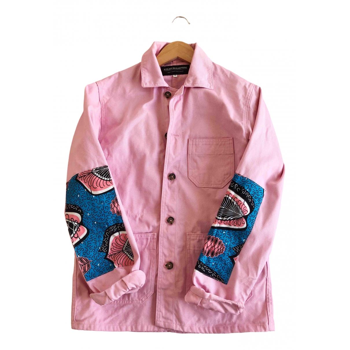 Atelier Beaurepaire - Veste   pour femme en coton - rose