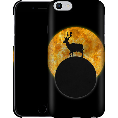 Apple iPhone 6s Plus Smartphone Huelle - Deer on the Moon von Barruf