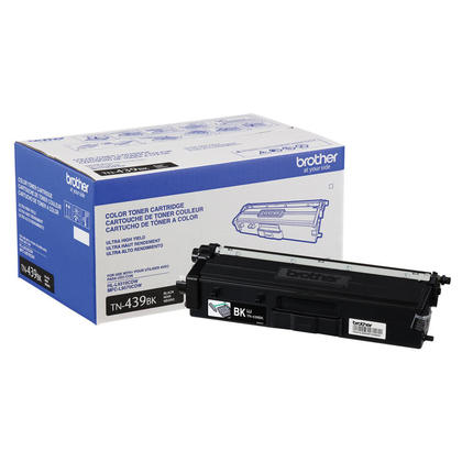 Brother TN439BK Original Black Toner Cartridge Ultra High Yield 9000 Pages