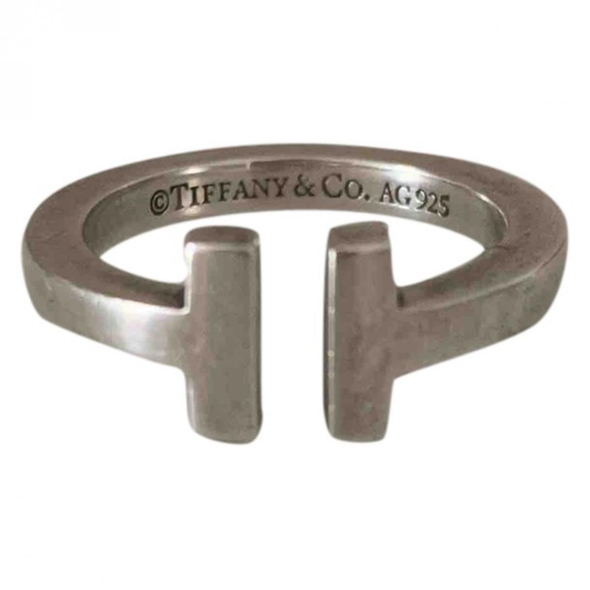 Tiffany & Co Tiffany T Silver Silver ring for Women 6 US