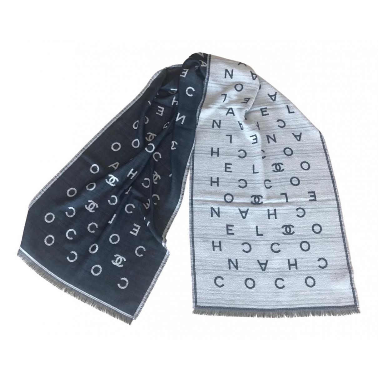 Chanel \N Beige Cashmere scarf for Women \N
