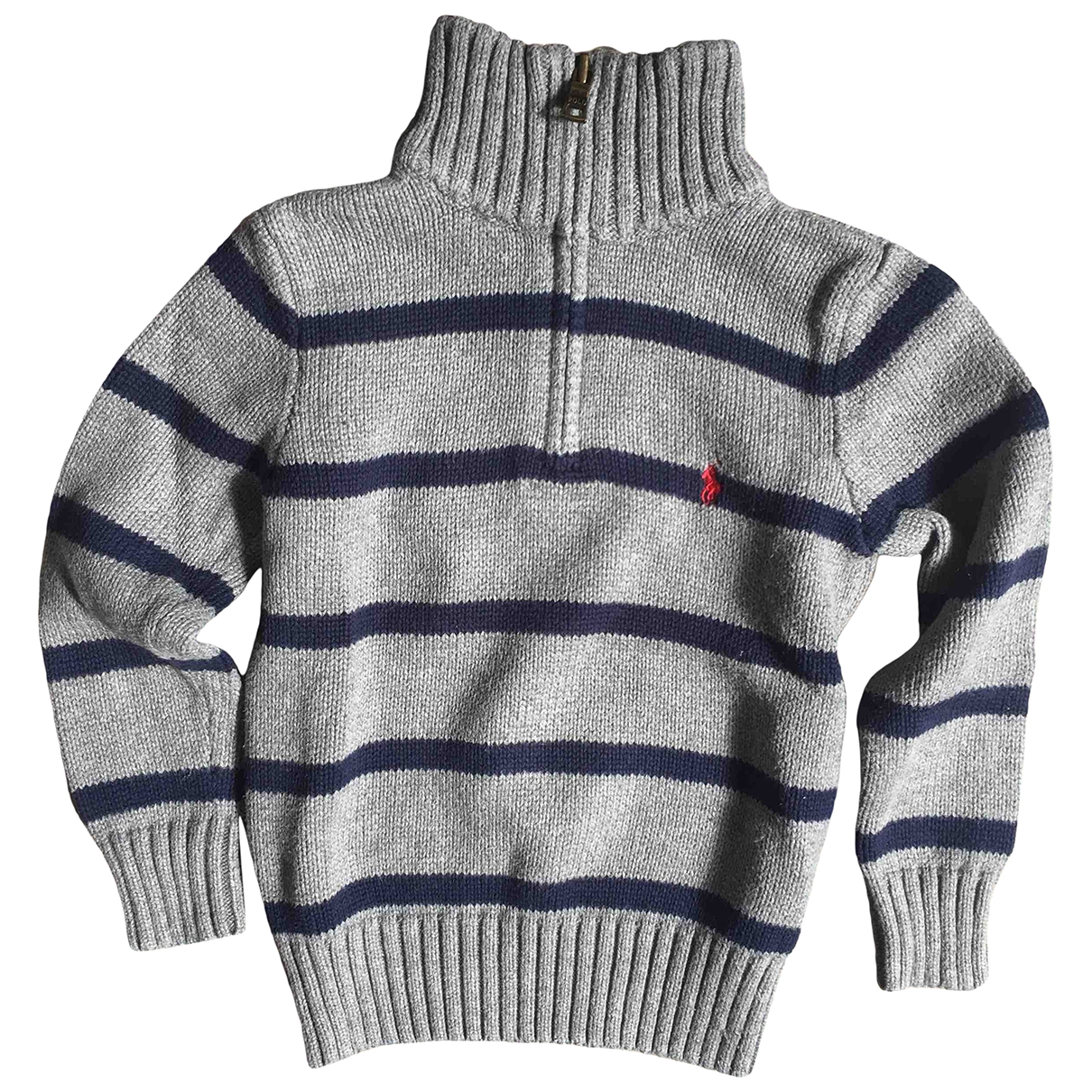 Polo Ralph Lauren \N Grey Cotton Knitwear for Kids 4 years - until 40 inches UK