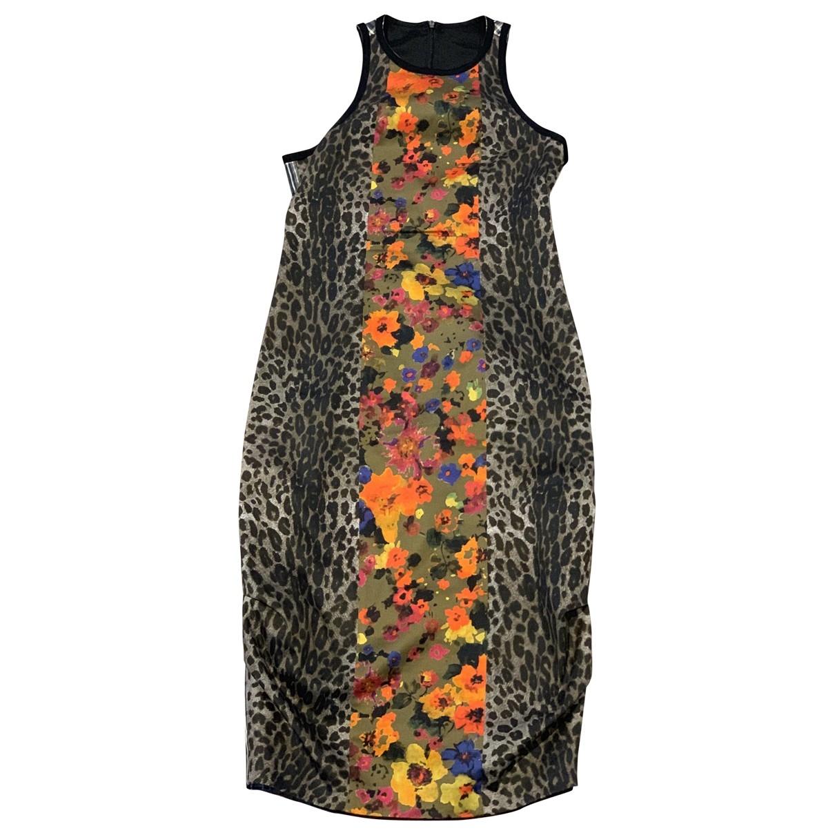 Max Mara \N Multicolour Cotton dress for Women 34 FR