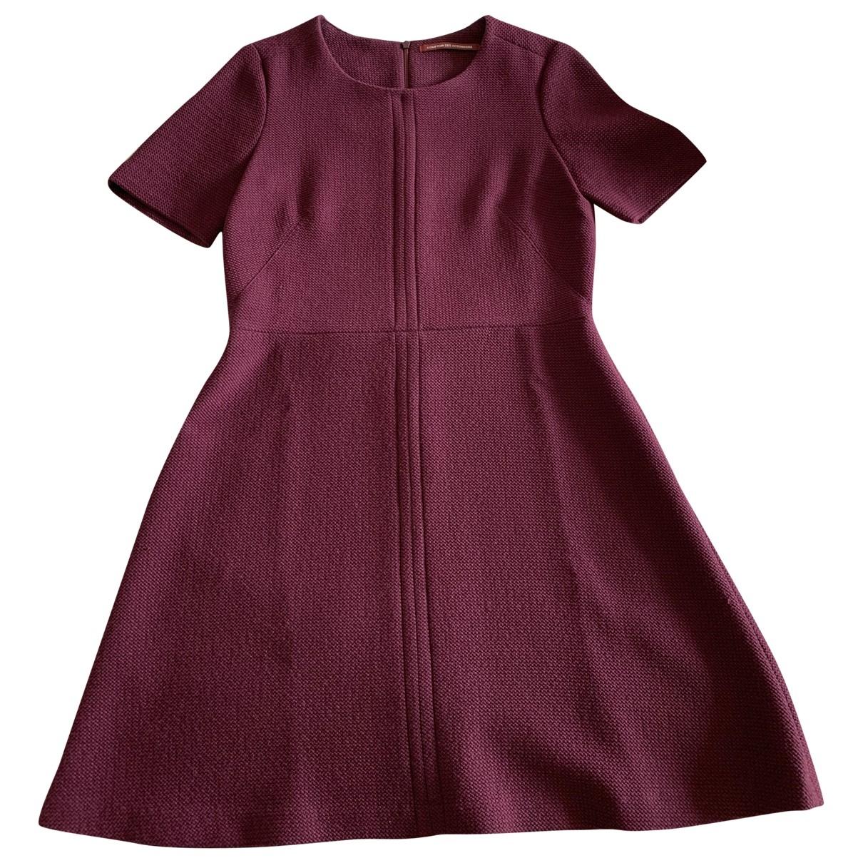 Comptoir Des Cotonniers \N Kleid in  Bordeauxrot Polyester
