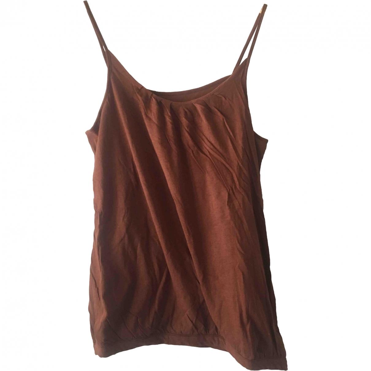 Dries Van Noten - Top   pour femme en coton - marron