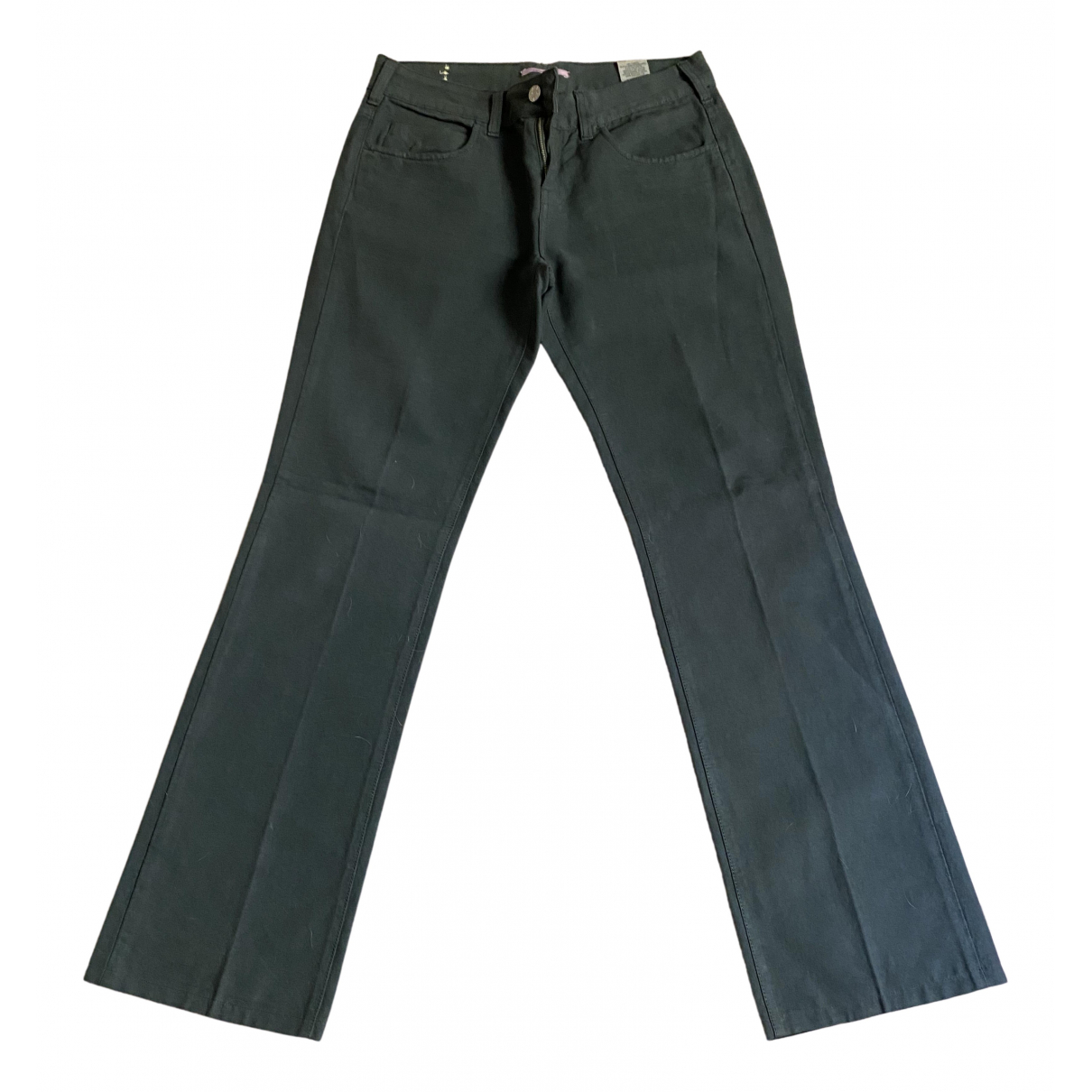 Vanessa Bruno N Green Cotton Jeans for Women 29 US