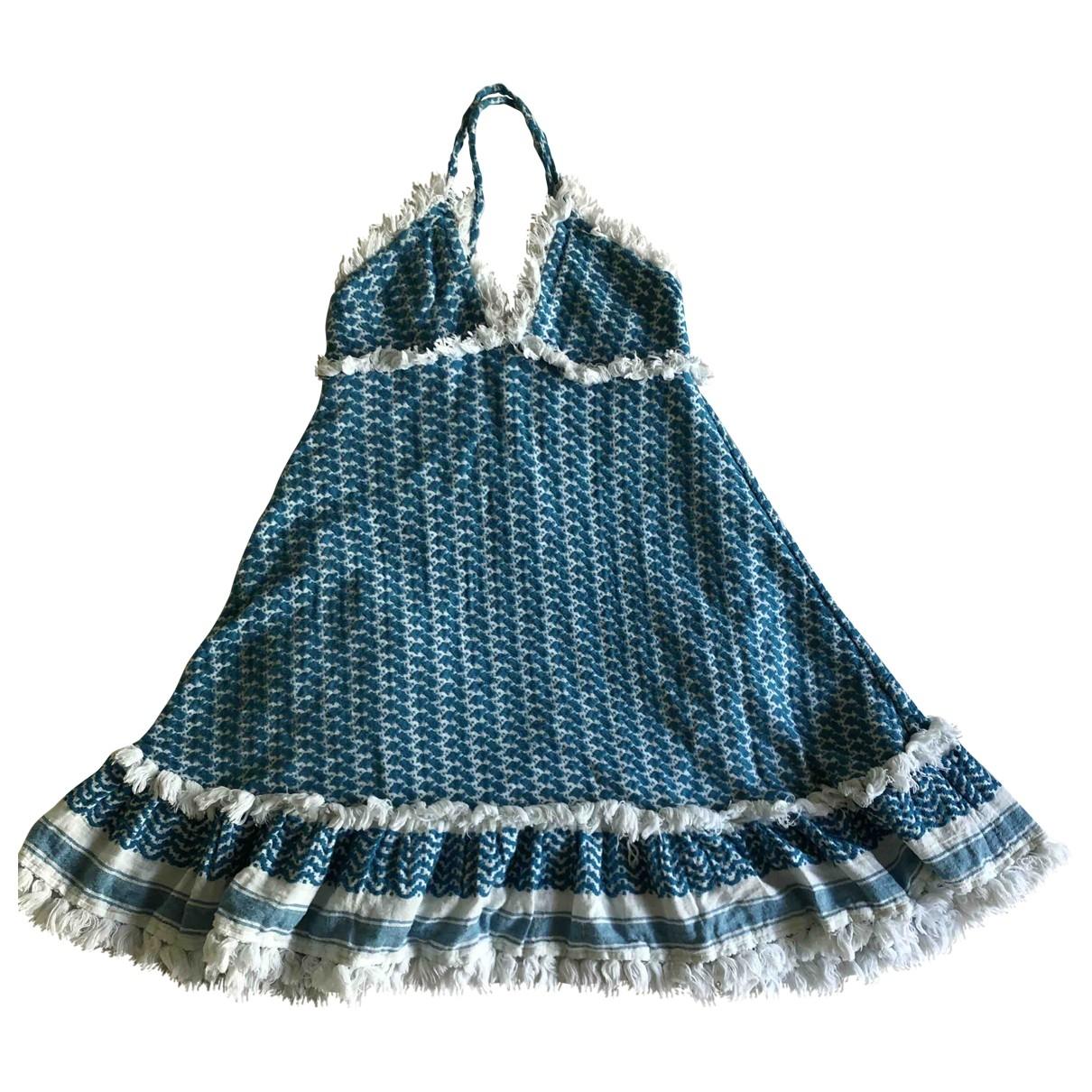 Dodo Bar Or \N Blue Cotton dress for Women S International