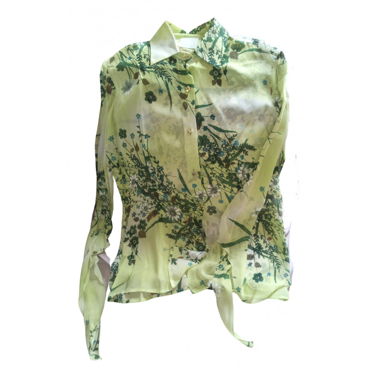 Non Signé / Unsigned \N Silk  top for Women 42 IT