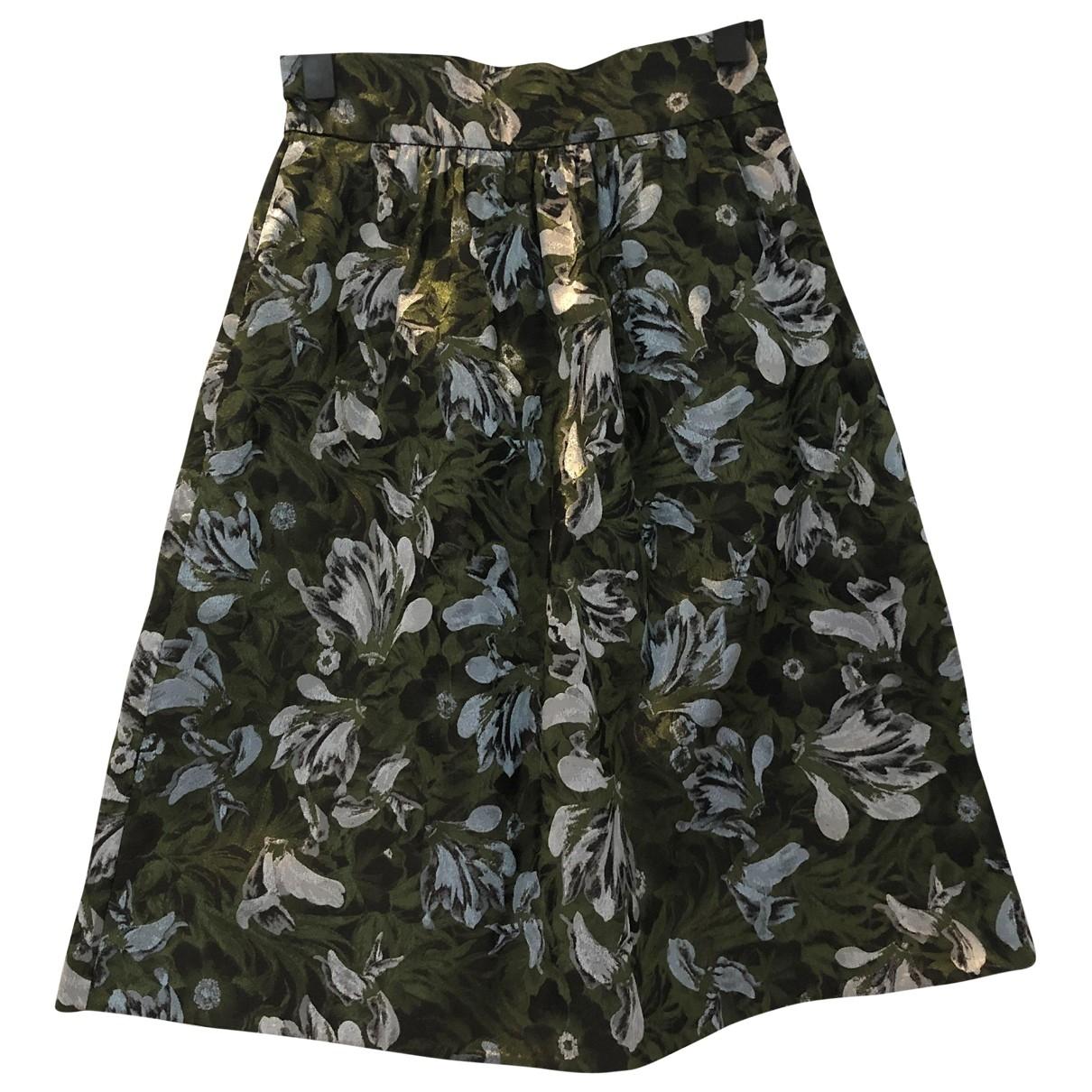 Erdem - Jupe   pour femme en coton - multicolore