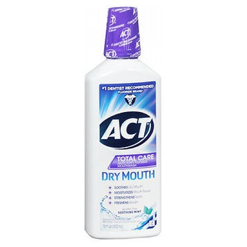 Act Total Care Dry Mouth Rinse Mint 18 oz by Act