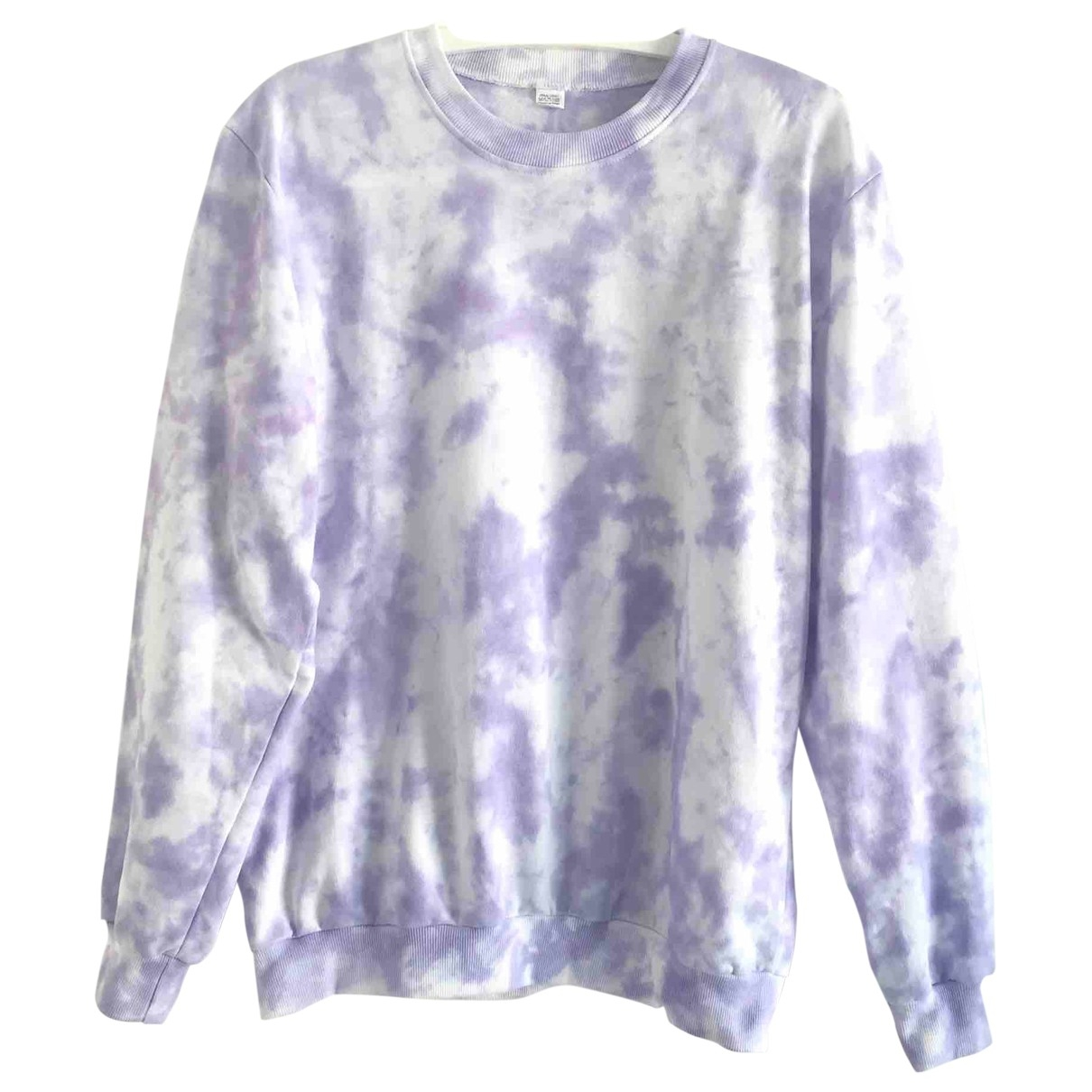 Non Signé / Unsigned \N Purple Cotton Knitwear for Women XL International
